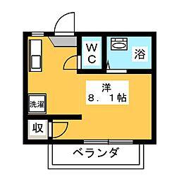 ハイツISHIKAWA[1階]の間取り