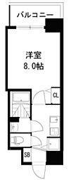 ディームス江坂[1109号室]の間取り