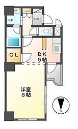 セレス大須[5階]の間取り