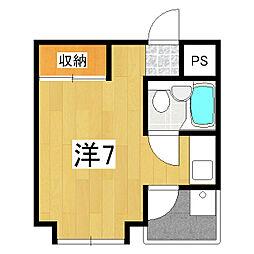 ハウスパシフィック[2階]の間取り