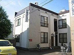 小松マンション[205号室]の外観