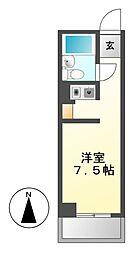 ラフィネ新栄[3階]の間取り