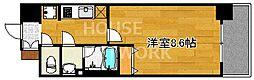 ベラジオ五条堀川II[701号室号室]の間取り