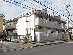 千葉県船橋市坪井西2丁目の賃貸アパートの外観