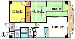 ダイコーロイヤル[2階]の間取り