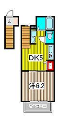 セントローレンス[2階]の間取り