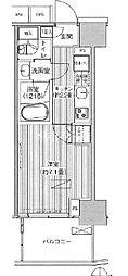 東京メトロ千代田線 新御茶ノ水駅 徒歩1分の賃貸マンション 3階1Kの間取り