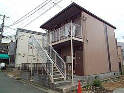 神奈川県横浜市神奈川区六角橋1丁目の賃貸アパートの外観