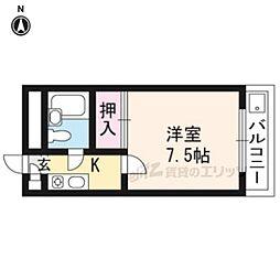 北野白梅町駅 3.5万円