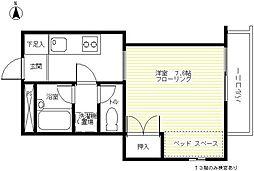 サンコート KOJIKA[S02号室]の間取り