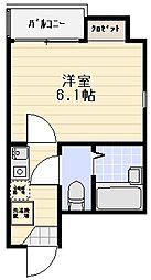 レジェンド川崎パークフロント[301号室]の間取り