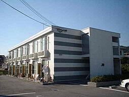 奈良県生駒郡斑鳩町法隆寺西3丁目の賃貸アパートの外観