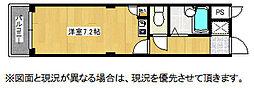 JOYハウス城西[3B号室]の間取り