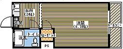 コーポふる里B[215号室]の間取り
