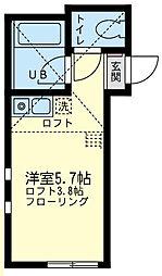 ユナイト 小田ラ・レコレータの杜[2階]の間取り