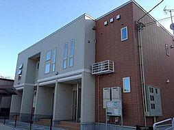 富山県富山市五福の賃貸アパートの外観