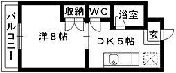 マンハイム伊藤I[103号室]の間取り