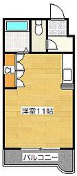 アークトレード太宰府[208号室]の間取り