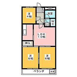英光ビル2[2階]の間取り