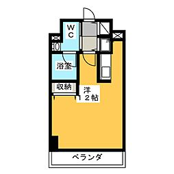 アーバンポイント高崎[2階]の間取り