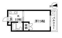 ヤマト青葉台ハウス[2階]の間取り