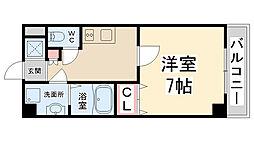 プライムコート川西多田[406号室]の間取り