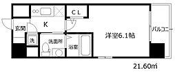 エスリード新梅田ノースポイント[6階]の間取り