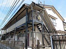 埼玉県越谷市千間台西2丁目の賃貸アパートの外観