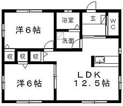 [一戸建] 静岡県浜松市東区長鶴町 の賃貸【/】の間取り