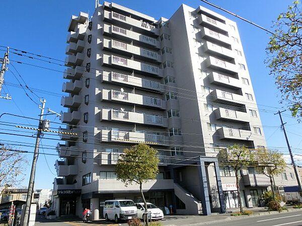 シャンブルドロア菊水 4階の賃貸【北海道 / 札幌市白石区】