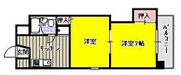 オークタウンマンション[4階]の間取り