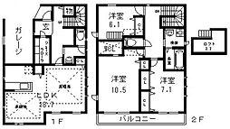 [タウンハウス] 大阪府東大阪市寿町2丁目 の賃貸【/】の間取り
