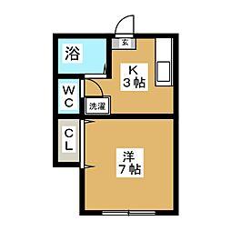 セントポーリア荘[1階]の間取り