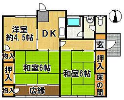 [一戸建] 兵庫県神戸市北区有野台7丁目 の賃貸【/】の間取り