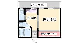 JR加古川線 社町駅 バス15分 南山下車 徒歩2分の賃貸アパート