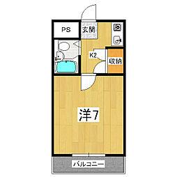 プラモーションアベニュー[3階]の間取り