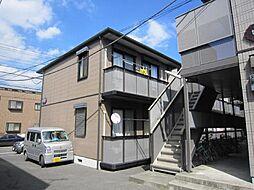 埼玉県川口市弥平1丁目の賃貸アパートの外観