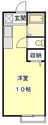 メゾンアミアミ[2階]の間取り