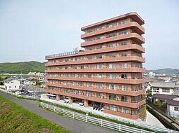 岡山県岡山市北区一宮の賃貸マンションの外観