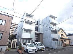 北海道札幌市豊平区平岸四条5丁目の賃貸アパートの外観