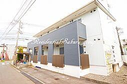神奈川県藤沢市羽鳥2丁目の賃貸アパートの外観