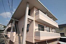 岡山県岡山市北区津島西坂1丁目の賃貸マンションの外観