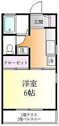 ヴィレッジ吉田[1階]の間取り