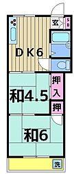 小泉マンション[405号室]の間取り