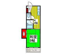 戸田城北マンション[4階]の間取り