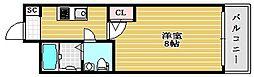 セレニテ堺筋本町SUD[14階]の間取り