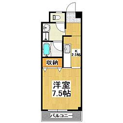 白銀台ハイツ[1階]の間取り