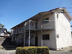 コーポ富田[2階]の外観