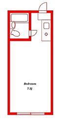 パレーシャル湘南館II[2階]の間取り
