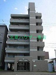 北海道札幌市東区北十七条東16丁目の賃貸マンションの外観